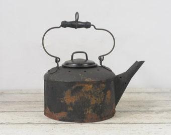 Rare Antique P. Wall Kettle For Plumbers Furnace? Solder Kerosene