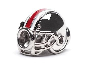 Ohio State Jewelry Helmet Bead Charm