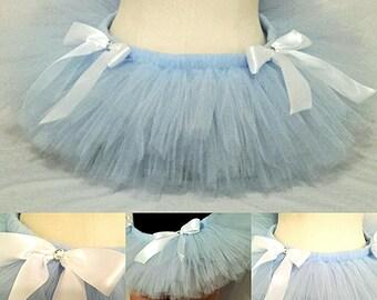 Cinderella Rave Tutu PREMADE - light blue - baby blue - burlesque - lolita - kawaii -costume -dance