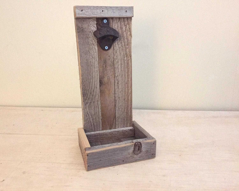 rustic bottle opener beer bottle opener wooden by. Black Bedroom Furniture Sets. Home Design Ideas