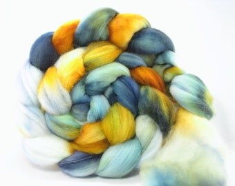 "5.3 oz Superwash Merino Top ""Tankin"""""