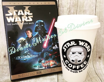 Star Wars Coffee Cup, May the Froth Be With You