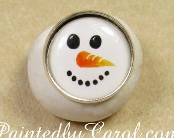 Snowman Ring, Snowman Jewelry, Snowman Gifts, Ring with Snowman, Jewelry with Snowman, Snowman Lover Gift, Christmas Ring, Christmas Jewelry