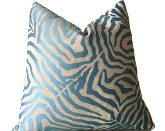 Zebra Lumbar Pillow Etsy