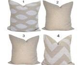 LIGHT BROWN PILLOWS, Tan Pillow Cover, Neutral Throw Pillow, Pillows, Tan Accent Pillow, Pillow Covers, Tan Euro, Light Brown Cushion Cover