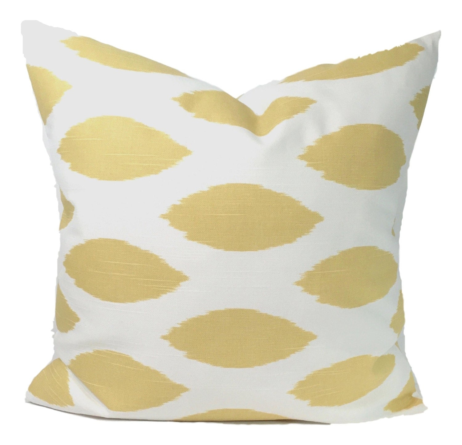 Pale Yellow Throw Pillow Cover : GOLD PILLOW PALE Yellow Pillow Pillow Cover Decorative