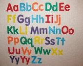 Choose Colors & Style - Felt Alphabet Set / Montessori Felt Alphabet