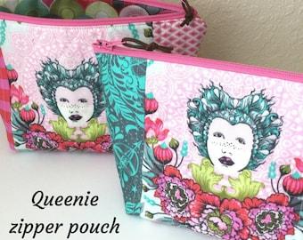 Queenie  Zipper Project Bag