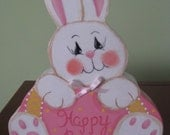 Easter bunny, Easter, bunny, bunny,  shelf sitter, spring decor,   home decor, Easter