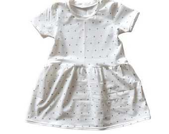 Baby/Toddler Criss Cross Swing Dress, Baby Dresses, Baby Girl Clothes, Toddler Dress, Girl Toddler, Baby Shower Gift, Baby Girl, Swing Dress