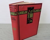 Vintage Young Adult Book - Eight Cousins by Louisa May Alcott - 1917 - Illustrated Book - Little Women