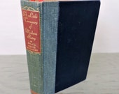 Vintage Poetry Book - A Little Treasury Of Modern Poetry: English and American - 1946