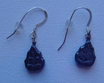 Lesf Pierced Earrings