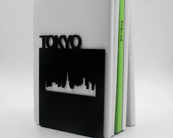 TOKYO Bookend, Modern And Minimalistic Style.
