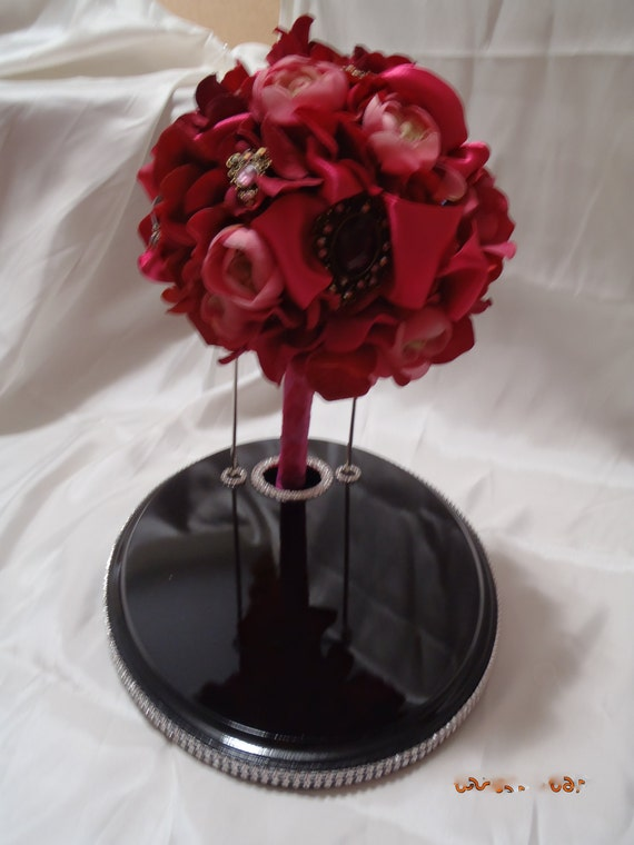 Bouquet Display Stand For Brooch And Flower Bridal Bouquets