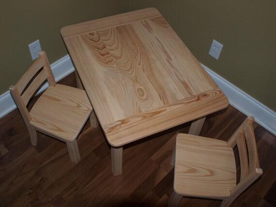 unfinished farmhouse table chair set. Black Bedroom Furniture Sets. Home Design Ideas