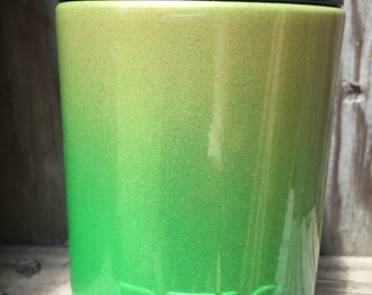 SALE*** Rtic Colster Powder Coated Granny Smith Green Ombre