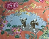 SUMMER PALACE Hand Print CHINTZ Fabric