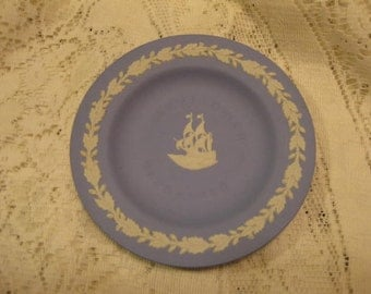 Wedgewood Plate Mayflower