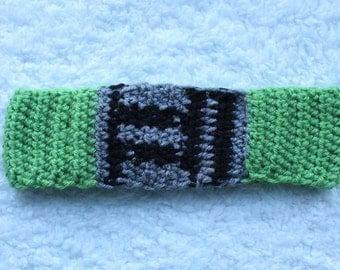 Crochet Star Wars Lightsaber headband/ear warmer - green (Yoda, Luke Skywalker) *MADE TO ORDER*