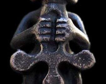 Cast Bronze Figurine of Thor - God of Thunder, ca. 80 mm