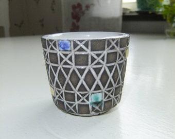 Vintage Swedish Corso small ceramic  vase - Ekeby - Ingrid Atterberg design