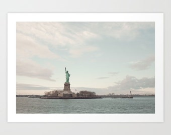 New York print, Liberty statue, New York photography, New York photo, large art, large wall art, New York City photography, NYC prints