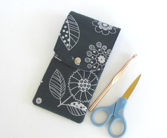 Knitting Needle Case, Crochet Hooks Holder, Notions Pouch ...