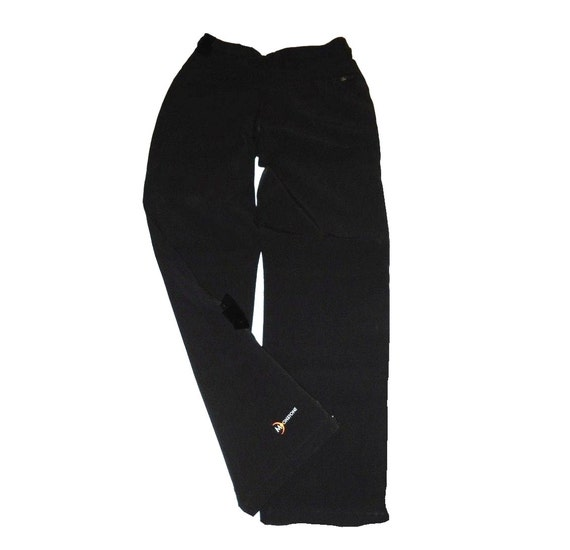 Vintage Ladies Ski Pants 1980s Moonstone Hollywood Style Black