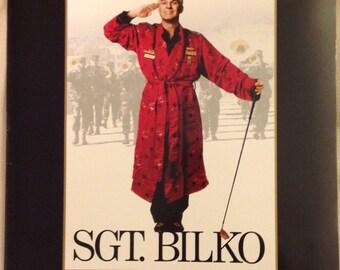 Movie press kit for Sgt. Bilko.