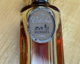 Two mini bottles of Hermes, Caleche.