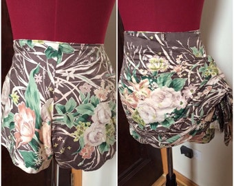 1940s Shorts and Sarong Set pinup sz xs s