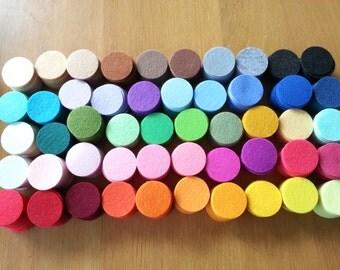 1000 Felt Circles - 1.5 inches