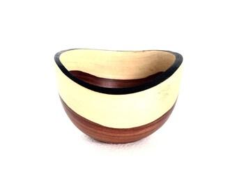 Wood Bowl No.160605- Coyote Natural Edge