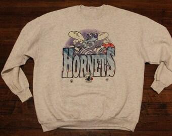 Charlotte Hornets shirt OG crewneck sweatshirt NBA Basketball XL