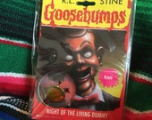 vintage sealed Goosebumps Hologram Charm Ring