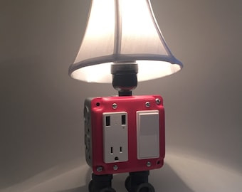USB Charger/Lamp - Watermelon