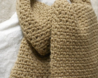 Crochet PATTERN - Easy Granite Stitch Scarf