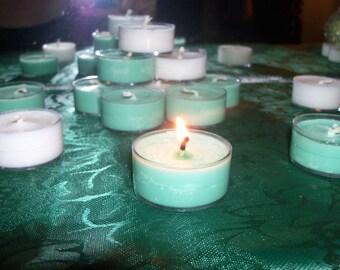 Handmade Scented Soy Tea Lights Set of 12