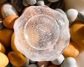 Sea Glass Bottle Bottom,Bottle Base,frosted Beach Glass,Craft Supplies, Large Beach Glass