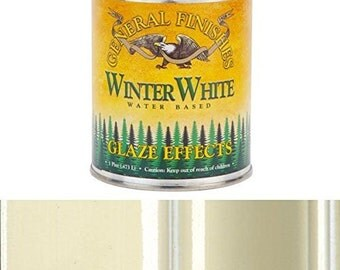 General Finishes Winter White Glaze, Pint