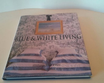 Blue and White Living Decorating Book