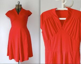 70s summer dress clipart