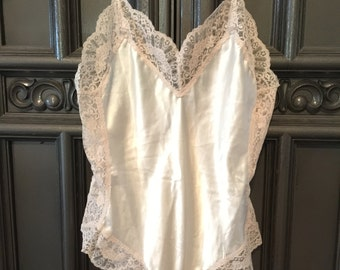 Satin and Lace Cami Teddy