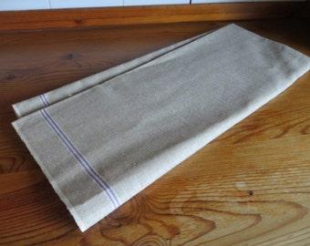 Free Ship Linen Mangle Cloth  Banquet Tablecloth  Lavender White Str   Fabric  Pillow Bag Curtain Upholstery Roman Blind Roman Shades Runner