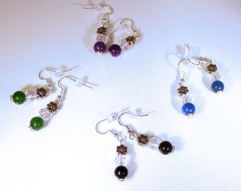 DAISY & Color, CRYSTAL EARRINGS