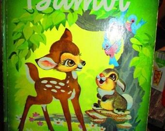Vintage 70's Bambi Storybook