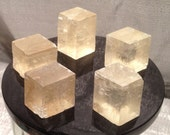 Golden Optic Calcite - Iceland Spar - Viking Sunstone  * Birefringent Navigation Crystal of the Ancient Norse *
