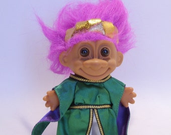 Queen Troll Doll is Vintage 1980's by Russ