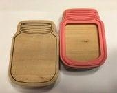 LARGE Jar rubber stamp, 85 mm (SB1)